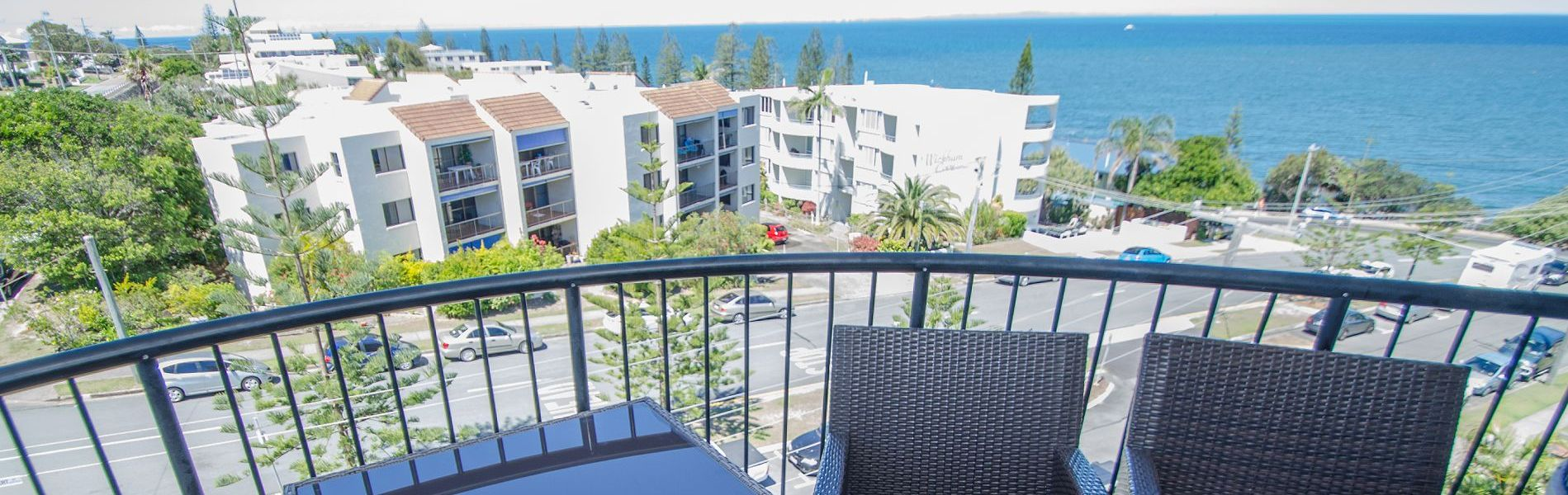 Meridian Caloundra Apartment Balcony Views